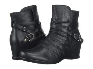 Baretraps Qui (black Microfiber) Women's Shoes