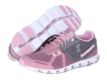 On Cloud (charcoal/rose) Women's Running Shoes