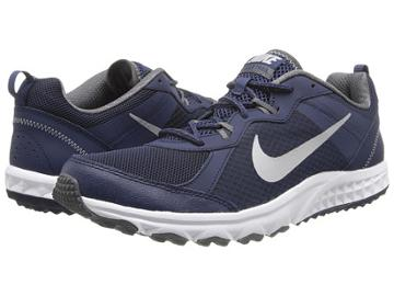 Nike Wild Trail (midnight Navy/dark Grey/wolf Grey/metallic Silver) Men's Running Shoes