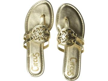 Circus By Sam Edelman Canyon (molten Gold New Metal Grain) Women's Shoes