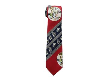 Versace Printed Tie (red) Ties