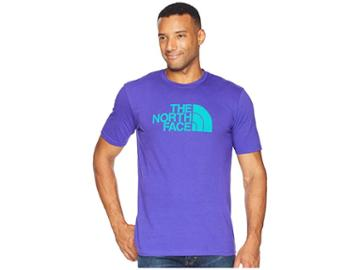 The North Face Short Sleeve 1/2 Dome Tee (deep Blue/porcelain Green) Men's T Shirt