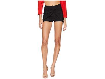 La Perla Ruffled Jade Shorts (black) Women's Swimwear