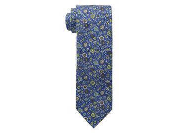 Eton Floral Tie (navy) Ties