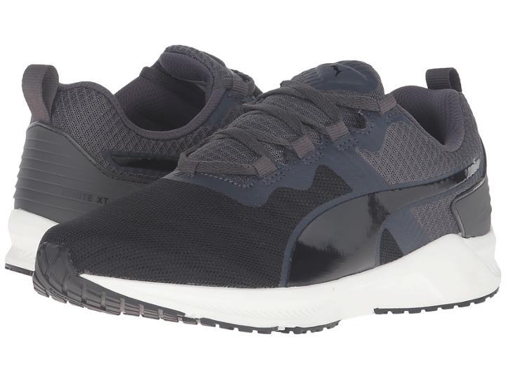 Puma Ignite Xt V2 (puma Black/asphalt) Men's Running Shoes