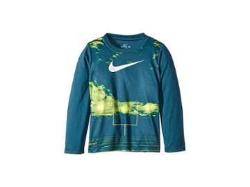 Nike Kids Friday Night Lights Dri-fit Long Sleeve Tee (little Kids) (blue Force) Boy's Clothing