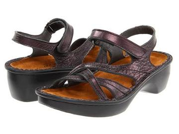 Naot Footwear Paris (peacock Leather) Women's Sandals