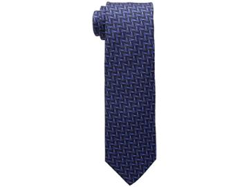 Eton Geometric Tie (navy) Ties