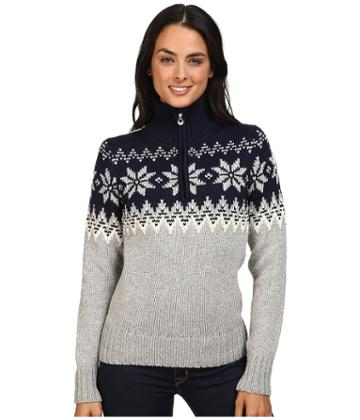 Dale Of Norway Myking Sweater (navy/off-white) Women's Sweater