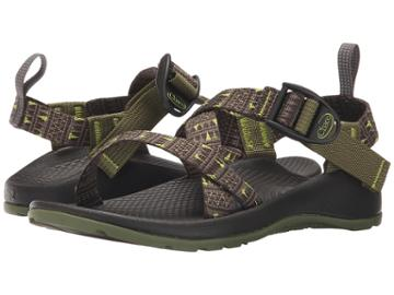 Chaco Kids Z/1(r) Ecotread (toddler/little Kid/big Kid) (forest Points) Boys Shoes