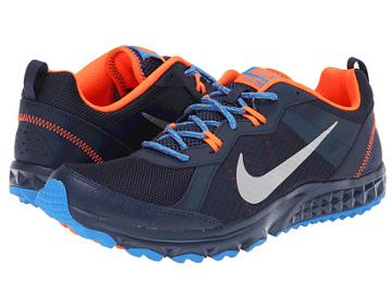 Nike Wild Trail (midnight Navy/photo Blue/hyper Crimson/metallic Silver) Men's Running Shoes
