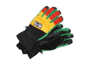 Burton Approach Under Glove (rasta) Snowboard Gloves