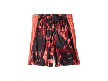 Nike Kids Dri-fit All Over Print Legacy Shorts (toddler) (bright Crimson) Boy's Shorts