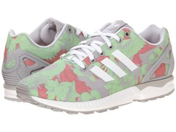 Adidas Originals Zx Flux W (light Onix/white/vista Pink) Women's Running Shoes
