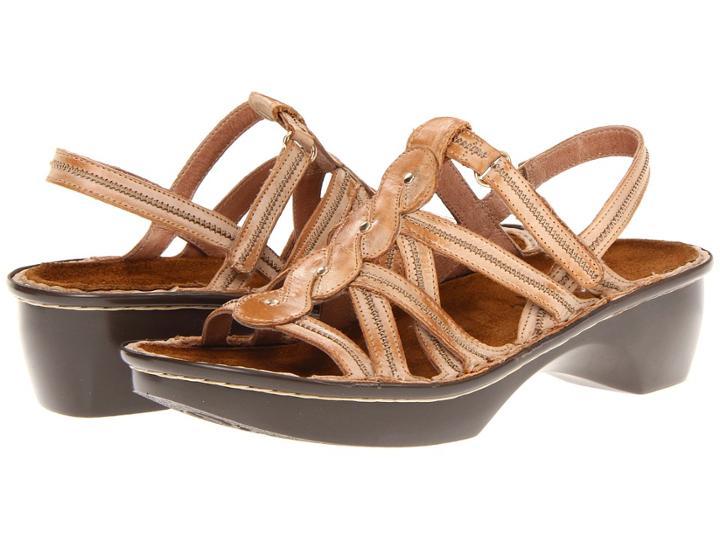 Naot Mumbai (biscuit Leather) Women's Sandals