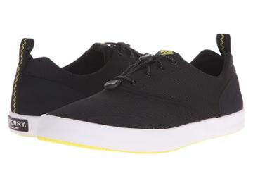 Sperry Flex Deck Cvo (black) Men's Lace Up Casual Shoes