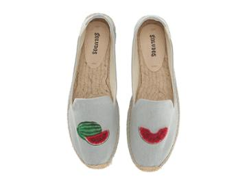 Soludos Watermelons Smoking Slipper (chambray) Women's Slippers