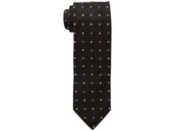 Eton Geometric Tie (brown) Ties