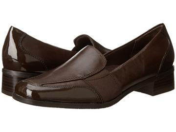 Trotters Arianna (dark Brown Patent Leather/burnished Soft Kid) Women's Shoes