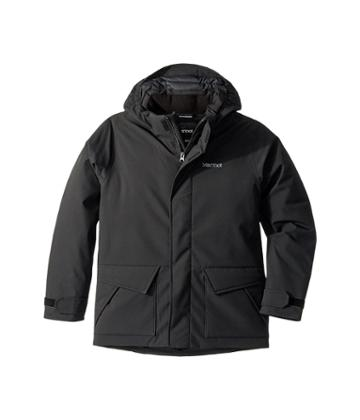 Marmot Kids Colossus Jacket (little Kids/big Kids) (black) Boy's Clothing