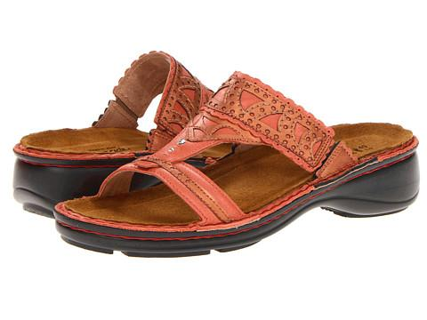 Naot Footwear Oleander (coral Reef Leather/mandarin Leather) Women's Sandals