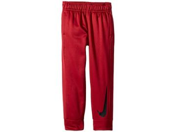 Nike Kids Mesh Therma Pants (toddler) (red Crush) Boy's Casual Pants