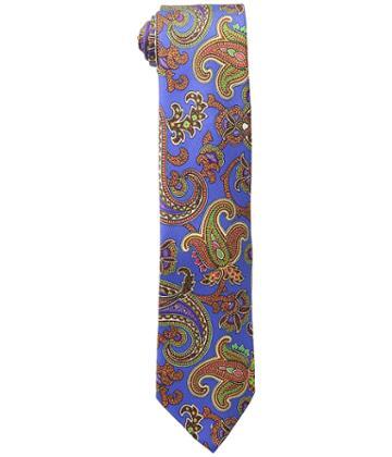 Etro Paisley Tie (blue) Ties