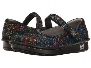 Alegria Belle (ric Rack Rainbow) Women's Maryjane Shoes