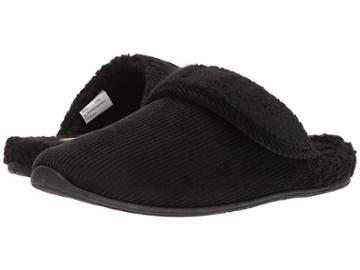 Deer Stags Wail Slipper (black) Men's Slippers