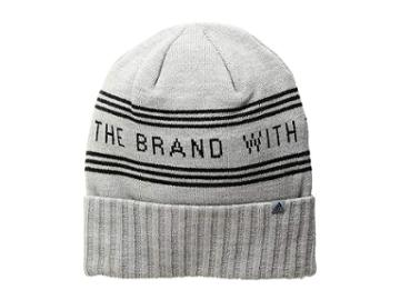 Adidas Bantam Graphic Beanie (heather Grey/black) Beanies