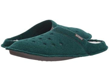 Crocs Classic Slipper (evergreen/stucco) Slippers