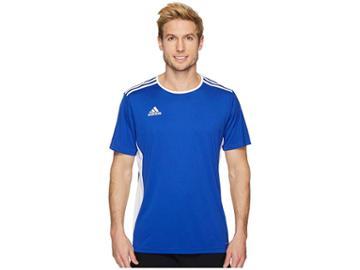 Adidas Entrada 18 Jersey (bold Blue/white) Men's Clothing