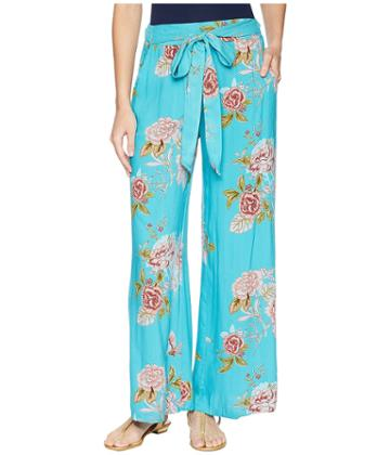 Angie Print Pant (blue) Women's Casual Pants