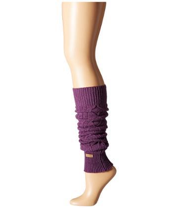 Toesox Leg Warmer Knee-highs (plum) Women's Knee High Socks Shoes