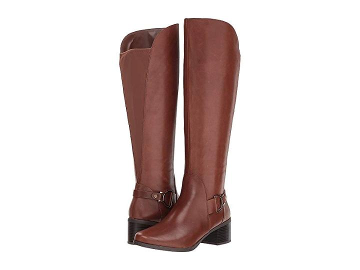 Anne Klein Jamee Riding Boot (cognac) Women's Boots