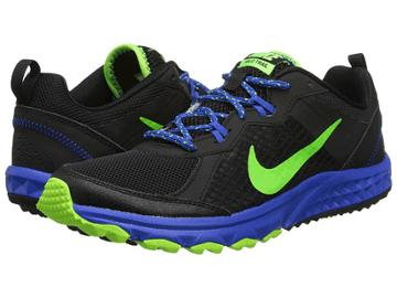 Nike Wild Trail (black/hyper Cobalt/electric Green) Men's Running Shoes