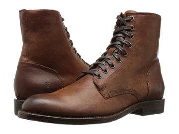 Frye Will Lace Up (copper) Men's Lace-up Boots