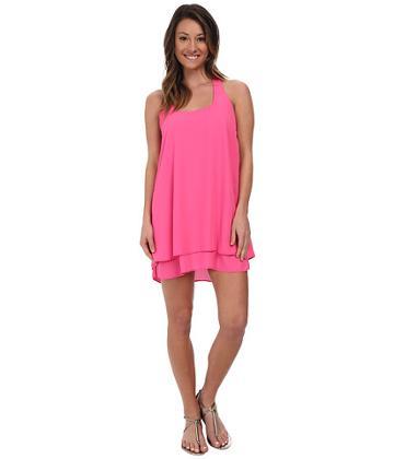 Lucy Love Bow Back Dress (pink Lotus) Women's Dress