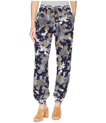 Angie Print Pant (navy) Women's Casual Pants