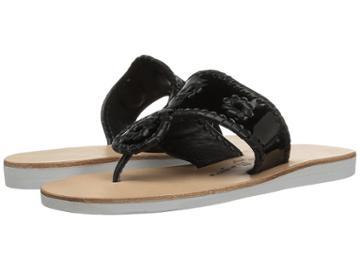 Jack Rogers Boating Jacks (black/black) Women's Sandals