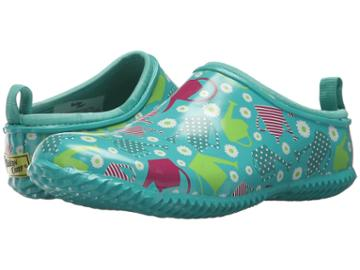 Western Chief Colorful Canister Clog (teal) Women's Clog Shoes
