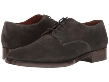 Frye Westley Oxford (charcoal Soft Oiled Suede) Men's Shoes