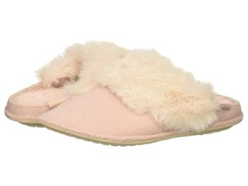 Crocs Classic Luxe Slipper (rose Dust) Slippers