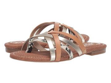 Circus By Sam Edelman Cypress (cashmere/jute/natural Tan Amazon Python/new Metal Grain/smooth A) Women's Shoes