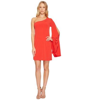 Trina Turk Musa Dress (pagoda Red) Women's Dress