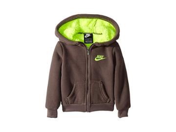 Nike Kids Futura Fleece Sherpa Full Zip (toddler) (gunsmoke) Boy's Sweatshirt