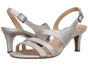 Naturalizer Taimi (silver Metallic Synthetic) High Heels