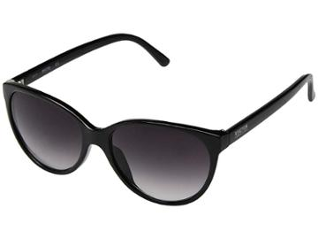 Kenneth Cole Reaction Kc1271 (shiny Black/gradient Smoke) Fashion Sunglasses