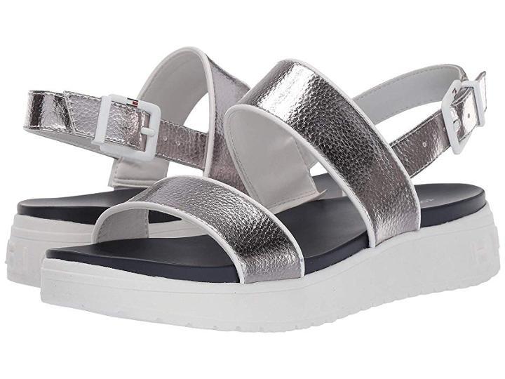 Tommy Hilfiger Kristi (silver) Women's Shoes