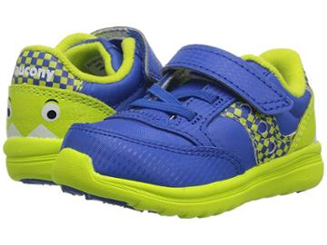 Saucony Kids Originals Jazz Lite (toddler/little Kid/big Kid) (blue Monster) Boys Shoes